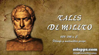 Frases Filósofos 1 Tales De Mileto