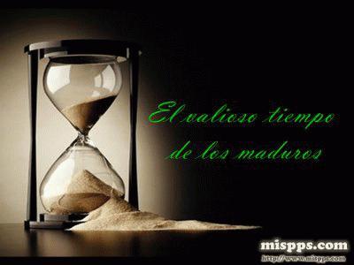 El Valioso Tiempo De Los Maduros