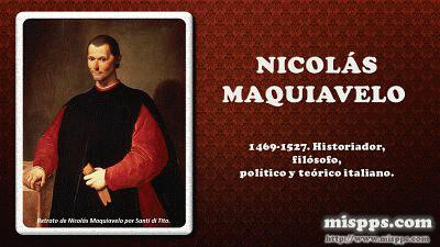 Frases Filósofos Dc 4 Nicolás Maquiavelo